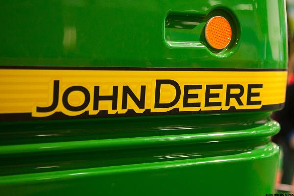 Deere (DE) Stock Higher, Wells Fargo Upgrades