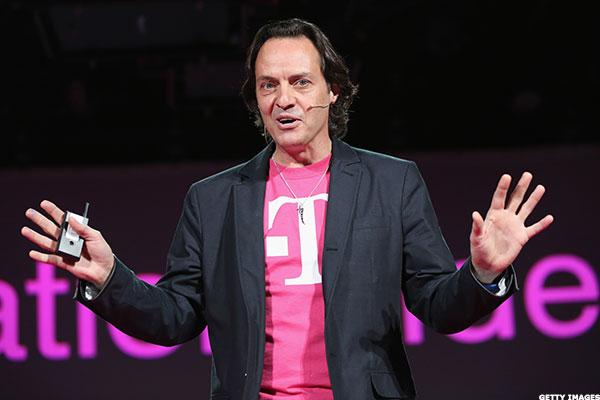 T-Mobile USA Boss Legere to Report Q1 Results, Likely Mock Wireless Rivals After the Close Today
