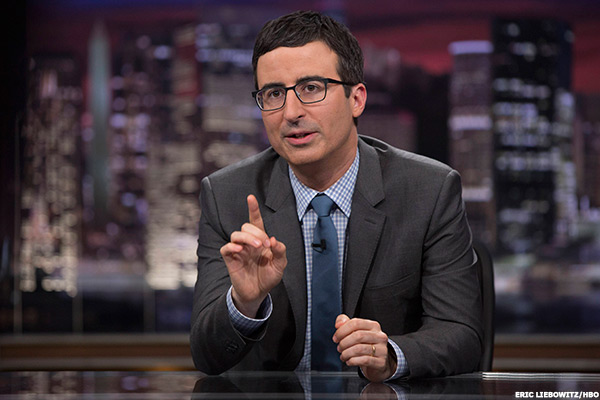 Satirist and occasional media watchdog John Oliver