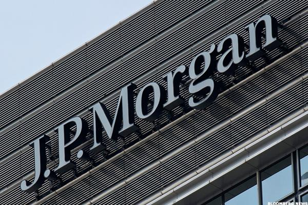 JP Morgan Chase Is Testing Nearby Support
