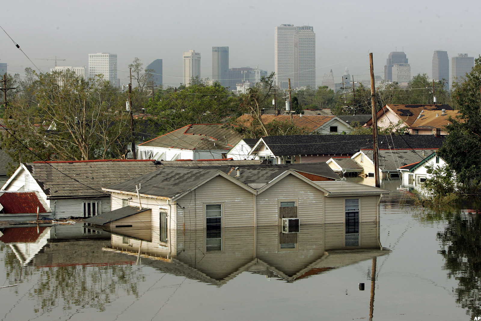 The Fed raised interest rates 25 basis points less than a month after Katrina struck New Orleans in 2005.