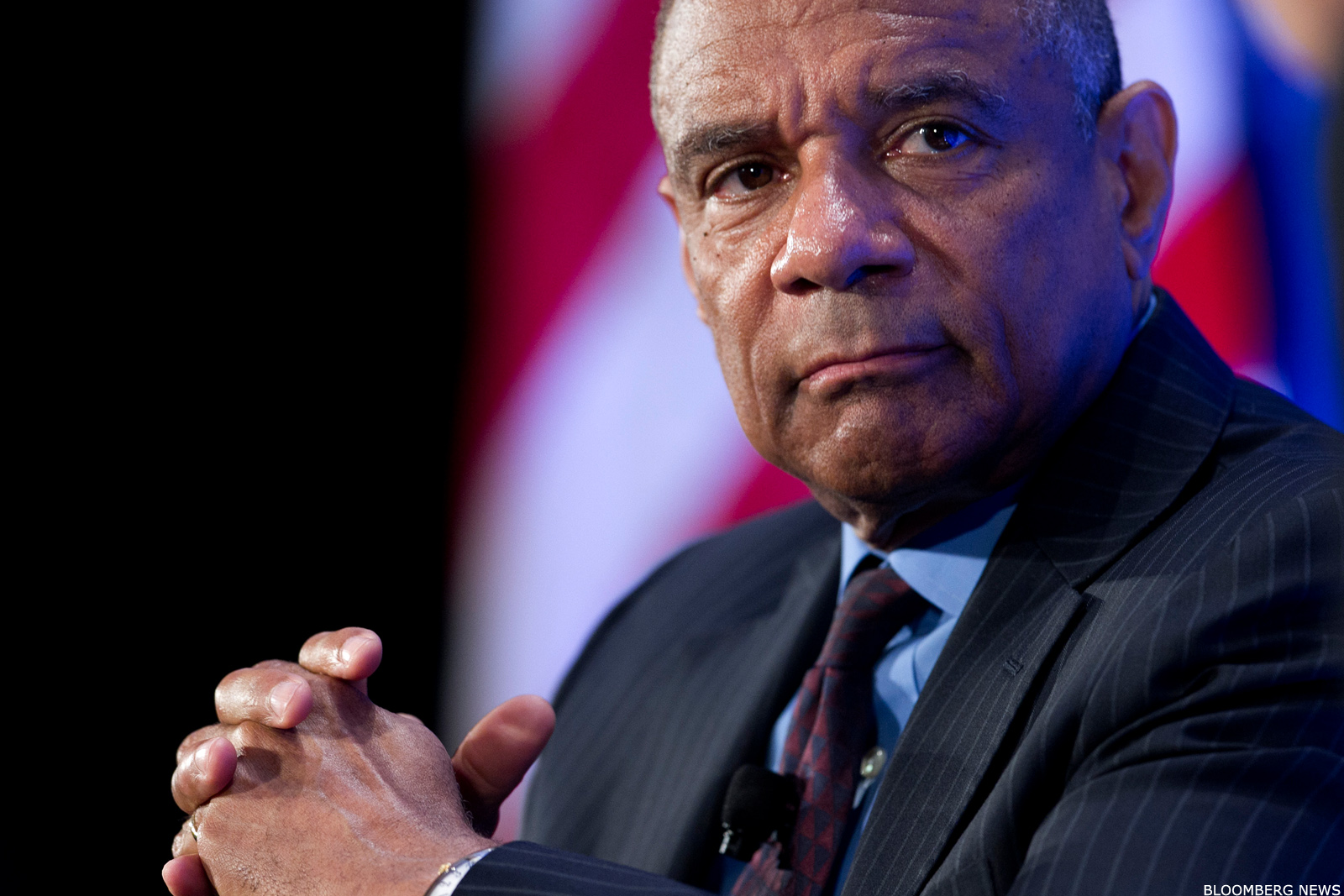 Kenneth Chenault became CEO of American Express in January 2001.