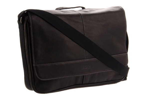 2e7664e8b9 Kenneth Cole s classic messenger bag is a top seller on Amazon. Stylish and  reliable