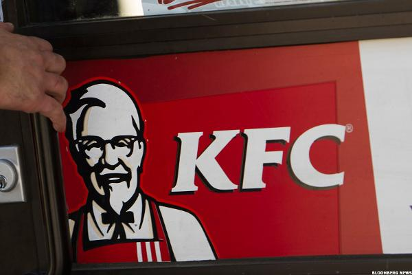 KFC, as in Kentucky Fried Chicken, and more fast food.