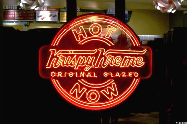 Krispy Kreme (KKD) Stock Continues to Rise on JAB's Takeover Offer