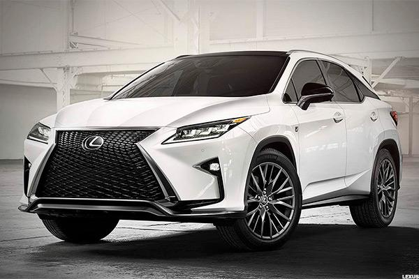 Best lexus rx model