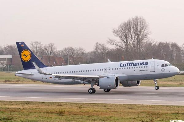 Lufthansa Leads German Market Higher After Strong Earnings Beat