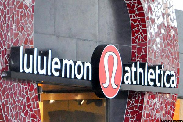 Lululemon Athletica Assumes Downward Triangle Pose