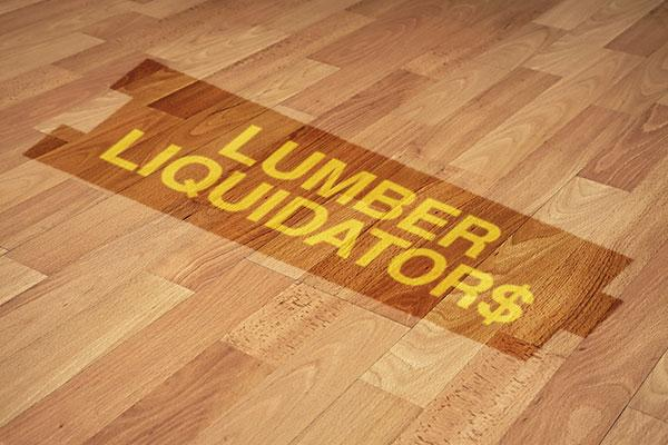 Take Profits in Lumber Liquidators Stock Now