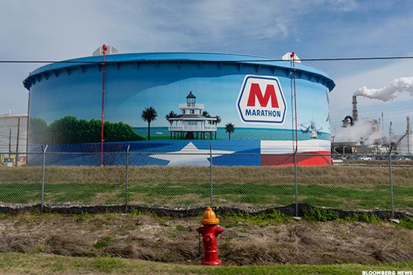 Jim Cramer -- Elliott Is Making Marathon Petroleum Even Better