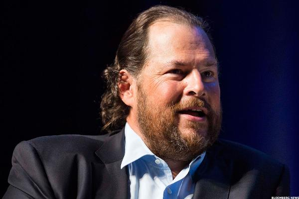 Salesforce CEO Benioff Headed to Washington Today