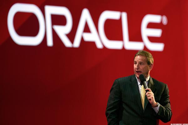CEO Mark Hurd Says Oracle Will 'Catch and Pass Salesforce'