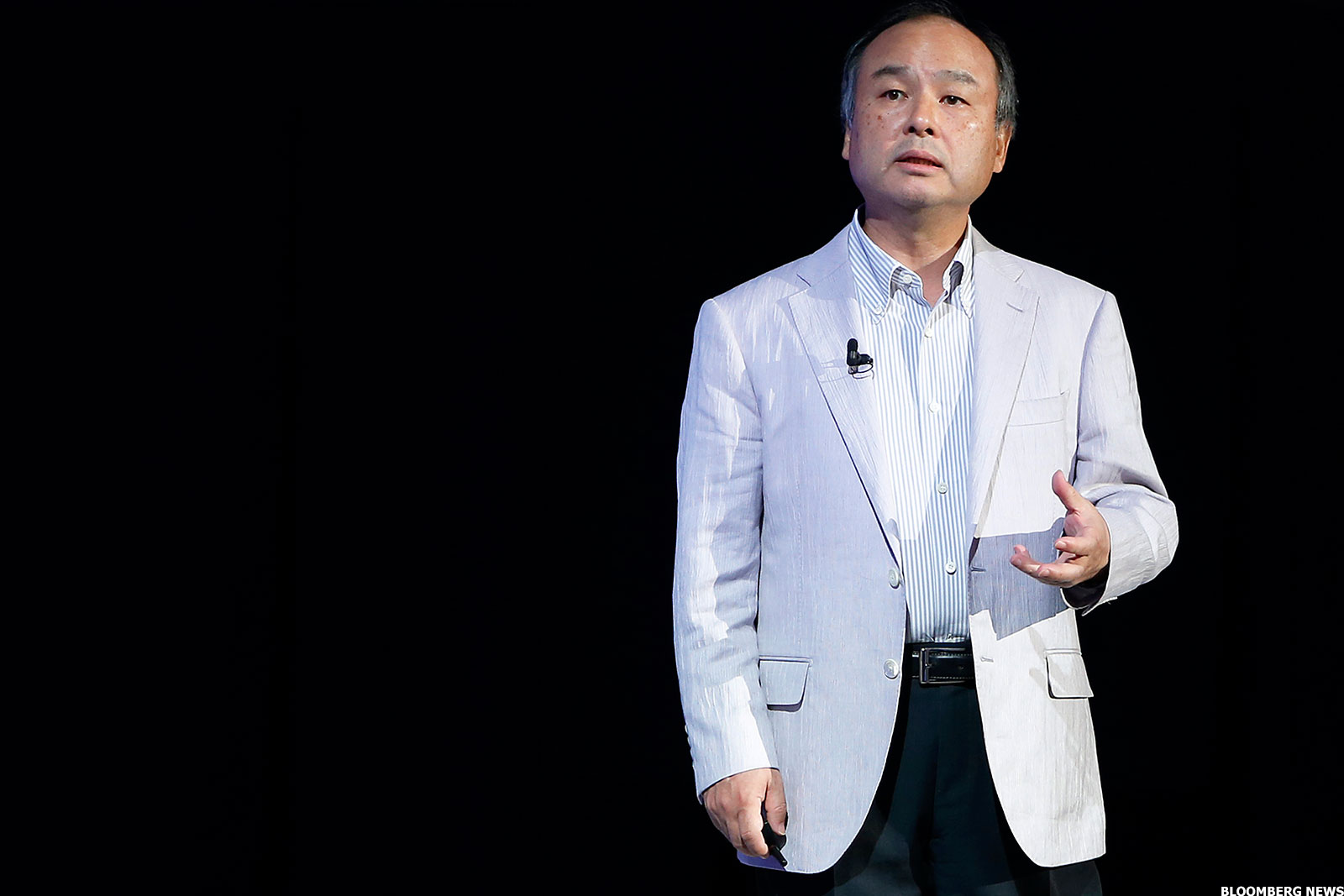 Softbank CEO, Masayoshi Son.