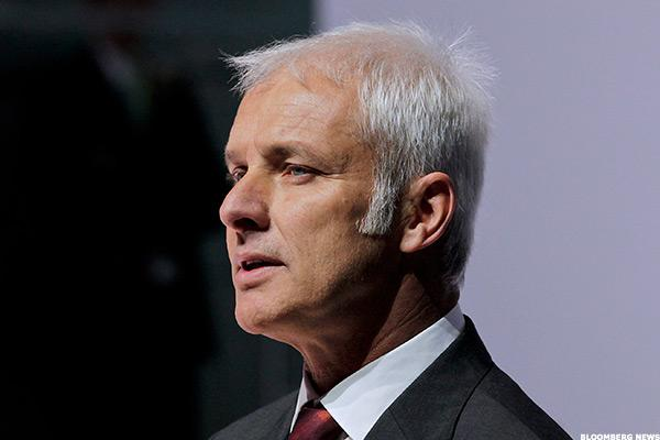 Volkswagen CEO Müller Identified as Suspect in Emissions Scandal Probe