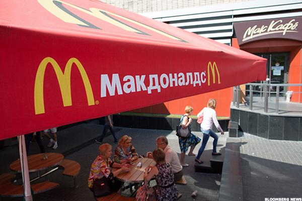 McDonald's Expands Russian Operations as U.S. Softens Russia Sanctions