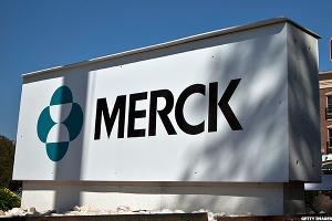 Merck Approaches Major Support Zone