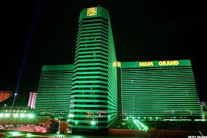MGM Stock Rises on Upbeat Outlook