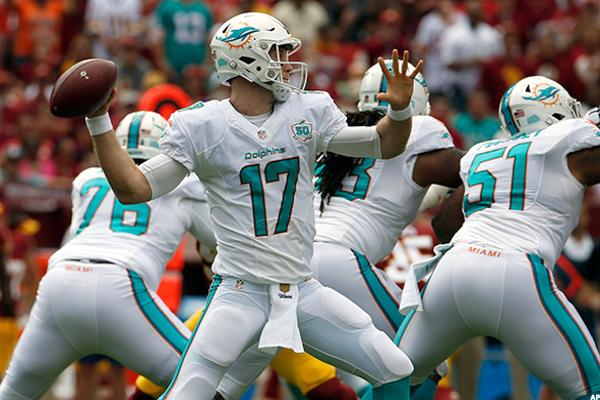 9. Miami Dolphins vs. Atlanta Falcons