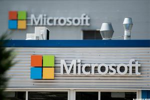 Microsoft Shares Could Benefit as Company Hangs Up on Phone Business