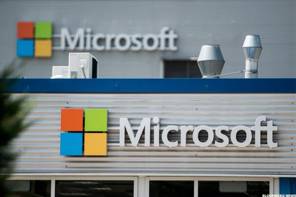 Microsoft Shares Hit All-Time High as Booming Cloud Business Drives Earnings Beat