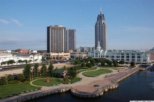 2. Mobile, Alabama