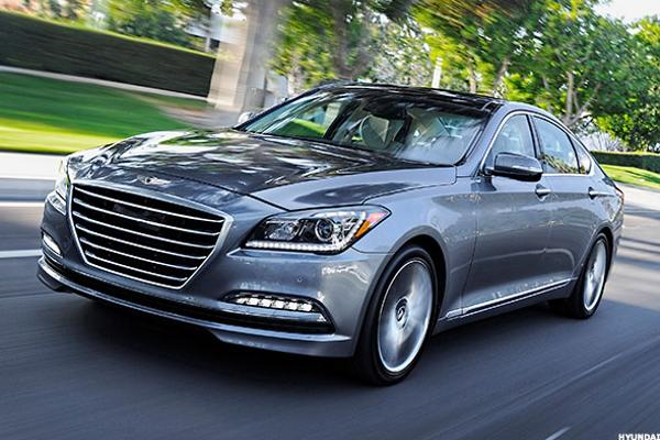 Hyundai high end car