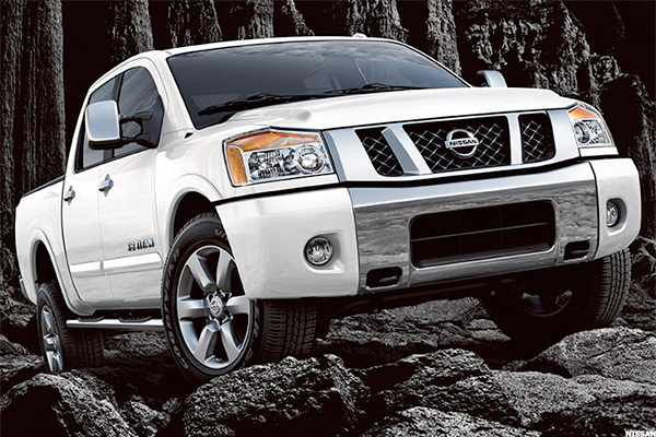 Nissan Titan Pro 4X Starting Price: $38,170. Combined City And Highway  Mileage: 14.5 Miles Per Gallon