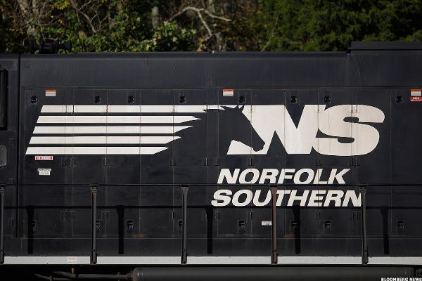 Is Norfolk Southern Pulling Back onto a Siding?