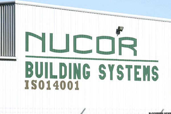 Nucor Is Retesting Upside Resistance