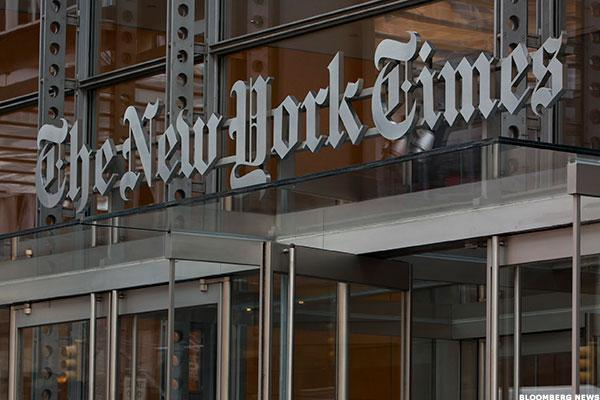 New York Times Falls as Advertising Declines Outweigh Digital Growth