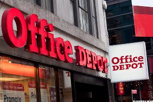 Here's a Reason Why Office Depot (ODP) Stock Is Down Today