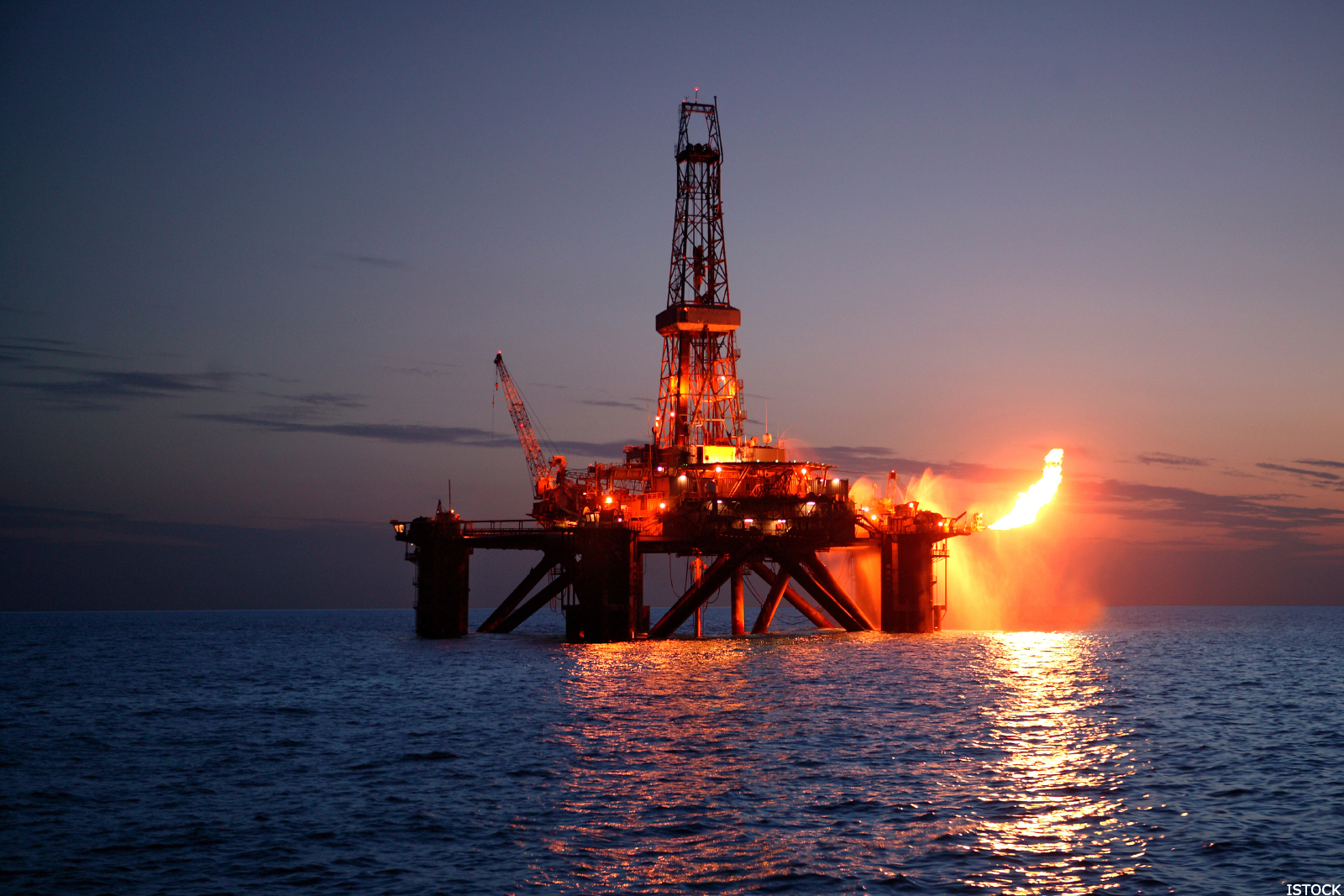 how to make oil rig