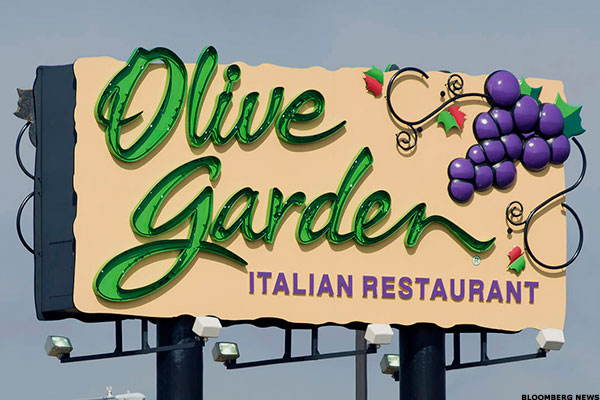 Shares of Olive Garden owner Darden may soon come under pressure.
