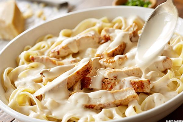 Darden Restaurants Dri Stock May See Boost From Olive Garden Pasta P