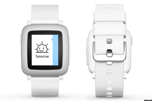 Get The Pebble Time Smartwatch On Amazon Now