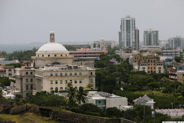 Capitol Building of Puerto Rico.