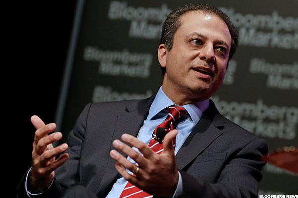 Bharara Firing Marks Exit of Tough Enforcer on Wall Street, Insider Trading