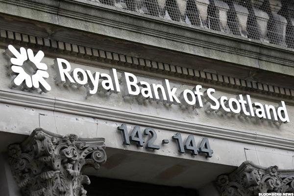 RBS Abandons Williams & Glyn Spinoff as Quarterly Loss Widens