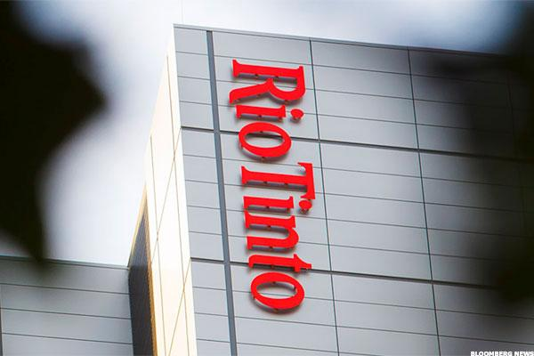 Rio Tinto Leads Miners Higher On Debt Buyback