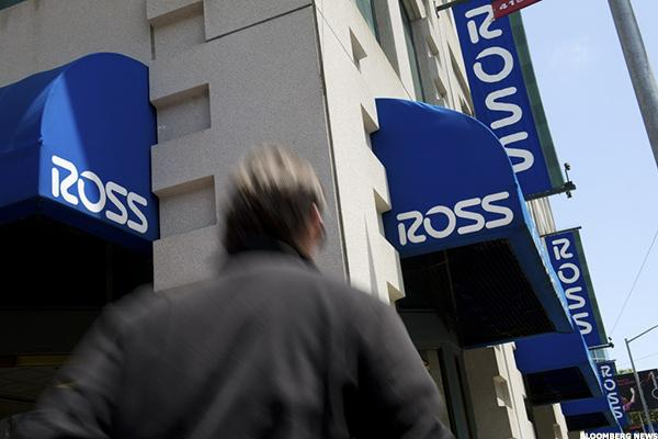 Charts Show Happy Holidays for Ross Stores