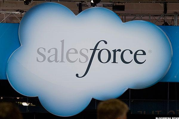 Salesforce.com Is on an Acquisition Binge, but It Faces a Slowdown