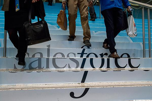Salesforce.com (CRM) Stock Climbs, Rules Out Twitter Bid
