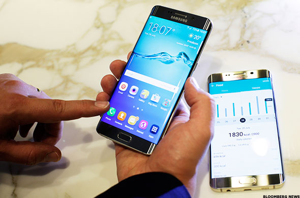 Samsung (SSNLF) Galaxy S6 edge + Review: Is Bigger ...