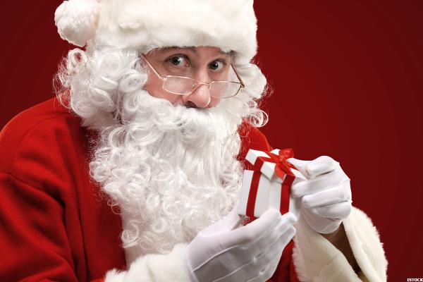 Infographic: Santa Gives Department Store Investors an Early Christmas Gift