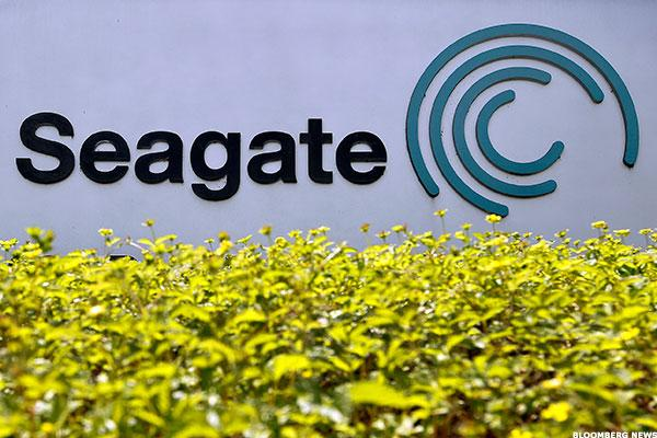 Seagate Surges Toward Upside Barrier