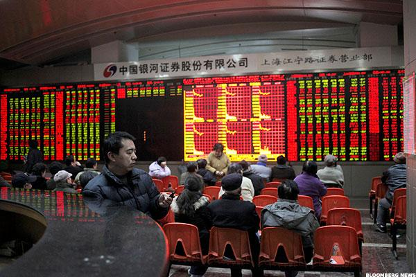 Beijing Loses Grip as Freaked Investors Send Shares to New Lows