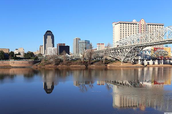 6. Shreveport, Louisiana