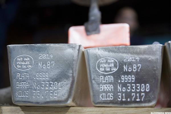 Silver Wheaton (SLW) Stock Drops as Silver Prices Tumble