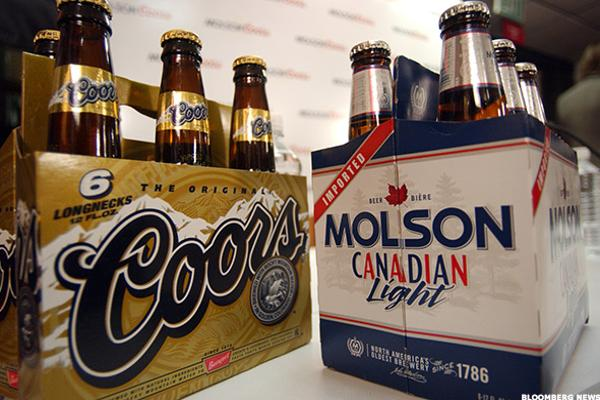 Time to Order a Round of Molson Coors
