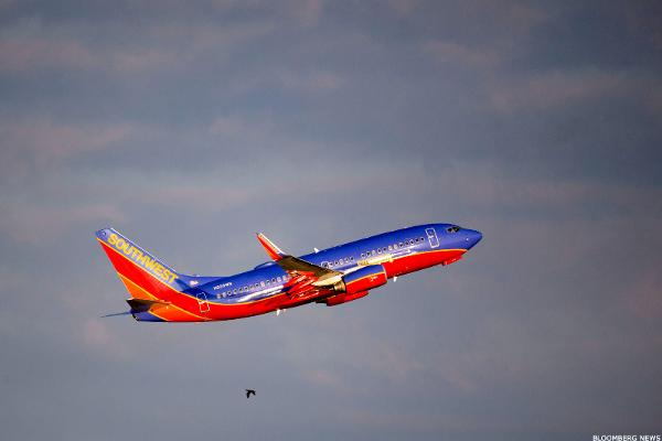 Southwest Airlines Shares Hold Early Gains